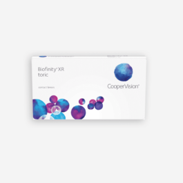 Coopervision-Biofinity Toric XR Monthly x6 Pack eye lab